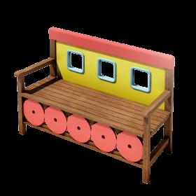 Panchina vagone